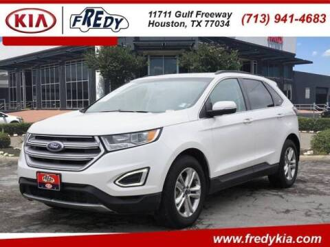 2015 Ford Edge for sale at FREDYS CARS FOR LESS in Houston TX