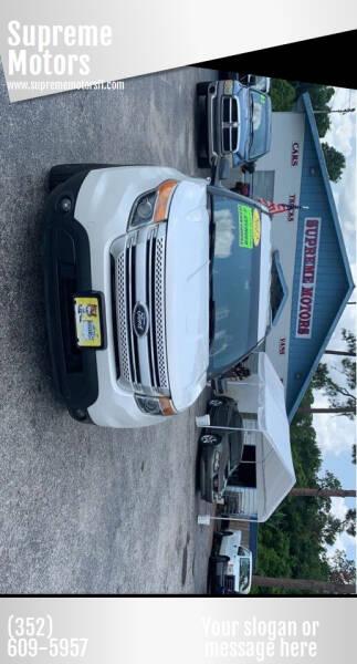 2012 Ford Explorer for sale at Supreme Motors in Tavares FL