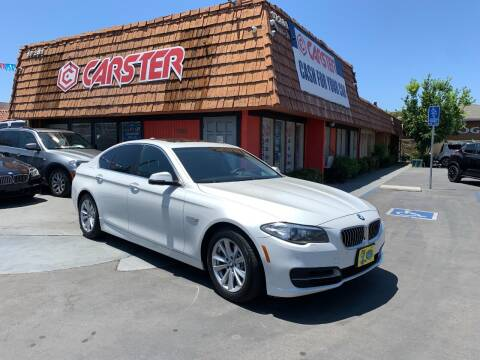 2014 BMW 5 Series for sale at CARSTER in Huntington Beach CA