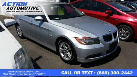 2008 BMW 3 Series for sale at Action Automotive Inc in Berlin CT