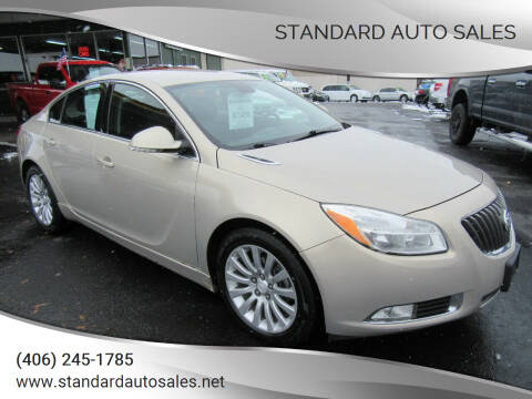2012 Buick Regal for sale at Standard Auto Sales in Billings MT