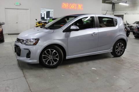 2017 Chevrolet Sonic for sale at R n B Cars Inc. in Denver CO