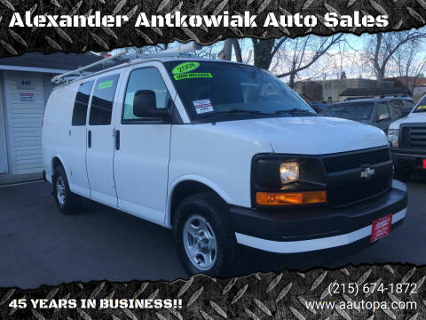 2008 Chevrolet Express Cargo for sale at Alexander Antkowiak Auto Sales in Hatboro PA
