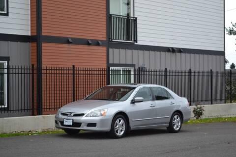 2007 Honda Accord for sale at Skyline Motors Auto Sales in Tacoma WA
