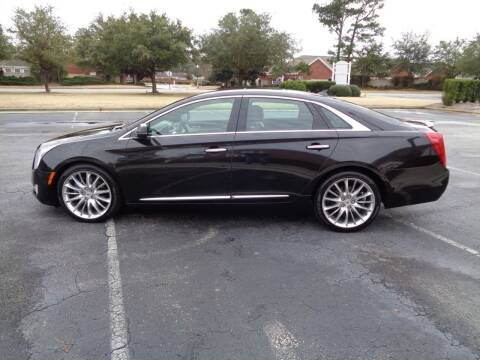 2014 Cadillac XTS for sale at BALKCUM AUTO INC in Wilmington NC