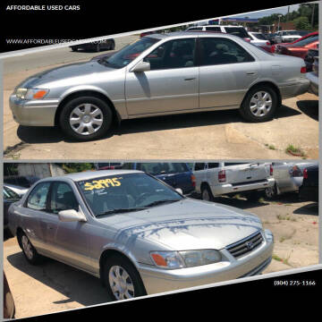 2001 Toyota Camry for sale at AFFORDABLE USED CARS in Richmond VA