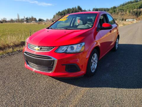2017 Chevrolet Sonic for sale at State Street Auto Sales in Centralia WA