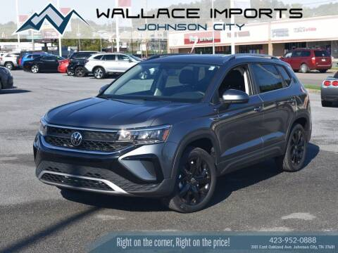 2022 Volkswagen Taos for sale at WALLACE IMPORTS OF JOHNSON CITY in Johnson City TN