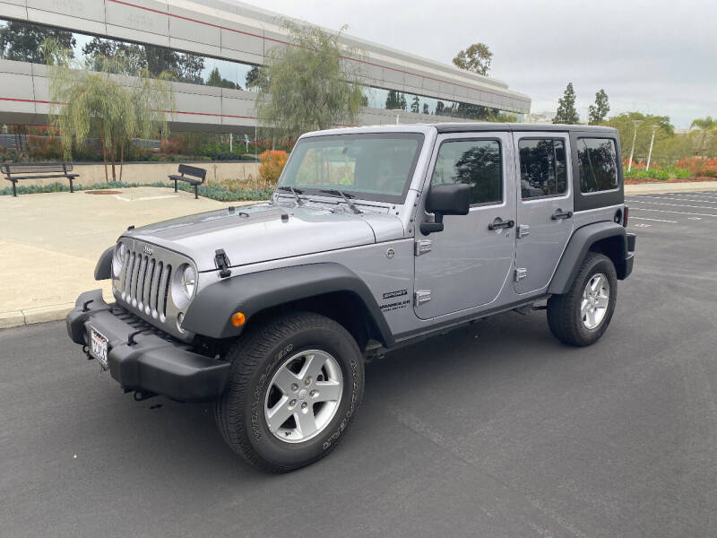2016 Jeep Wrangler Unlimited for sale at CAS in San Diego CA