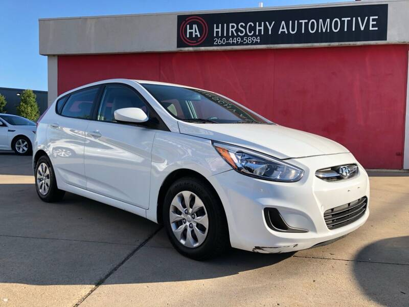 2017 Hyundai Accent for sale at Hirschy Automotive in Fort Wayne IN