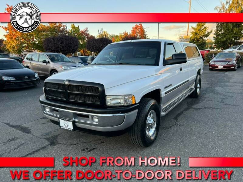 2001 Dodge Ram Pickup 2500 for sale at Auto 206, Inc. in Kent WA
