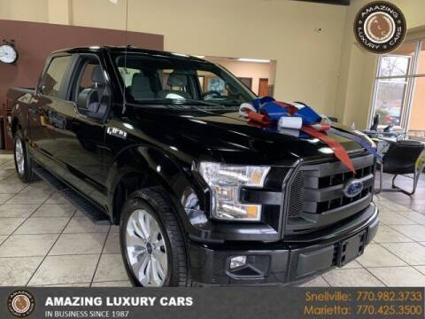 2016 Ford F-150 for sale at Amazing Luxury Cars in Snellville GA