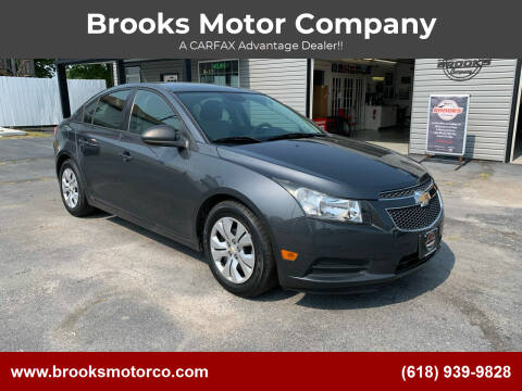 2013 Chevrolet Cruze for sale at Brooks Motor Company in Columbia IL