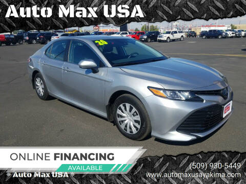 2020 Toyota Camry Hybrid for sale at Auto Max USA in Yakima WA