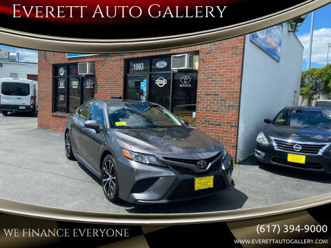 2018 Toyota Camry for sale at Everett Auto Gallery in Everett MA