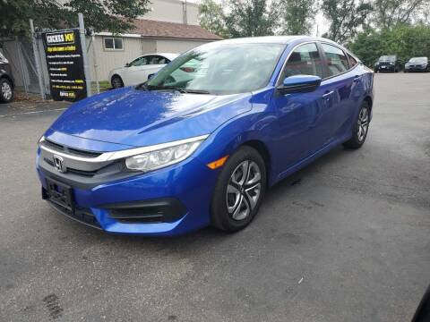 2018 Honda Civic for sale at MIDWEST CAR SEARCH in Fridley MN