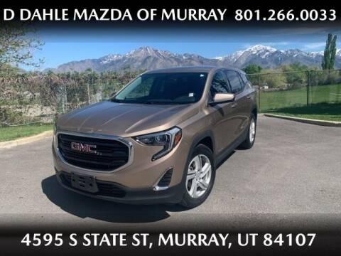 2018 GMC Terrain for sale at D DAHLE MAZDA OF MURRAY in Salt Lake City UT