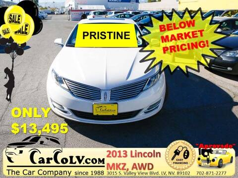 2013 Lincoln MKZ for sale at The Car Company in Las Vegas NV