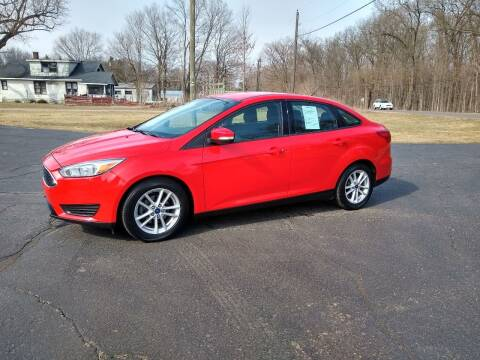2016 Ford Focus for sale at Depue Auto Sales Inc in Paw Paw MI
