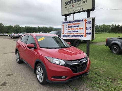 2016 Honda HR-V for sale at Sensible Sales & Leasing in Fredonia NY
