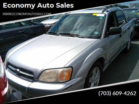 2003 Subaru Baja for sale at Economy Auto Sales in Dumfries VA