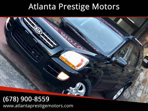 2007 Kia Sportage for sale at Atlanta Prestige Motors in Decatur GA