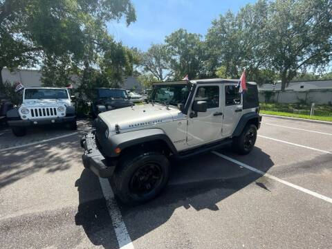 2007 Jeep Wrangler Unlimited for sale at Bay City Autosales in Tampa FL