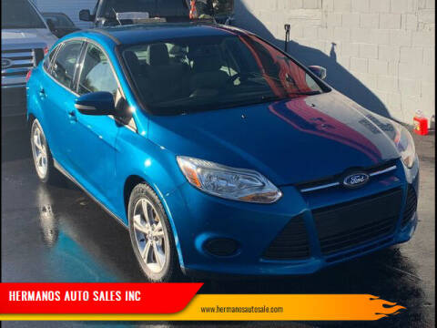 2013 Ford Focus for sale at HERMANOS AUTO SALES INC in Hamilton OH