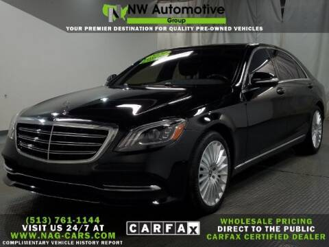 2020 Mercedes-Benz S-Class for sale at NW Automotive Group in Cincinnati OH