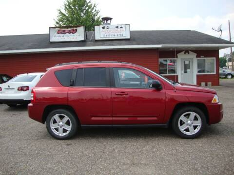 2010 Jeep Compass for sale at G and G AUTO SALES in Merrill WI