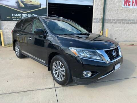 2013 Nissan Pathfinder for sale at KAYALAR MOTORS Mechanic in Houston TX