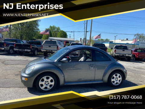 2002 Volkswagen New Beetle for sale at NJ Enterprises in Indianapolis IN