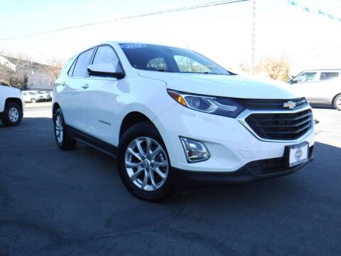 2018 Chevrolet Equinox for sale at Platinum Auto Sales in Provo UT