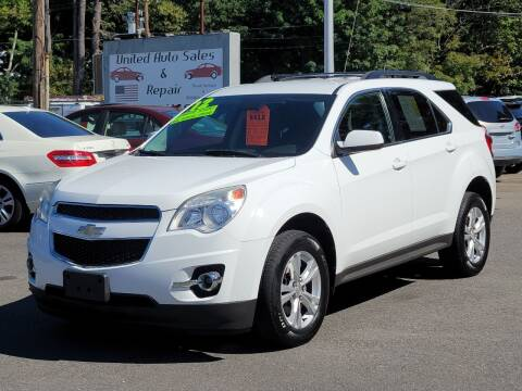 2012 Chevrolet Equinox for sale at United Auto Service in Leominster MA