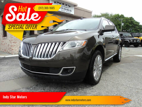 2011 Lincoln MKX for sale at Indy Star Motors in Indianapolis IN