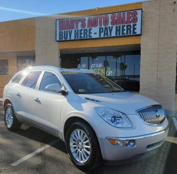 2012 Buick Enclave for sale at Marys Auto Sales in Phoenix AZ