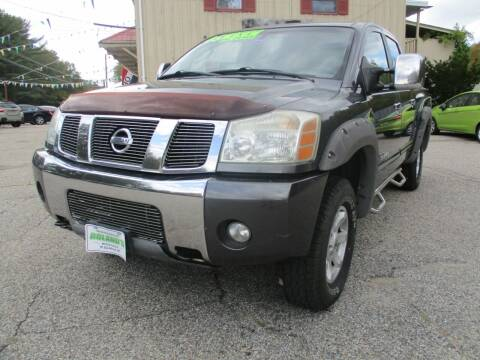 2005 Nissan Titan for sale at Roland's Motor Sales in Alfred ME