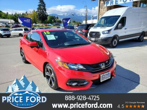 2015 Honda Civic for sale at Price Ford Lincoln in Port Angeles WA