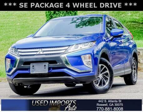 2020 Mitsubishi Eclipse Cross for sale at Used Imports Auto in Roswell GA