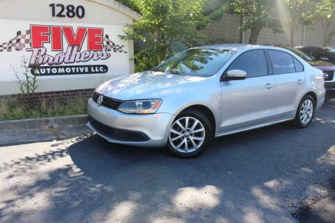 2012 Volkswagen Jetta for sale at Five Brothers Auto Sales in Roswell GA