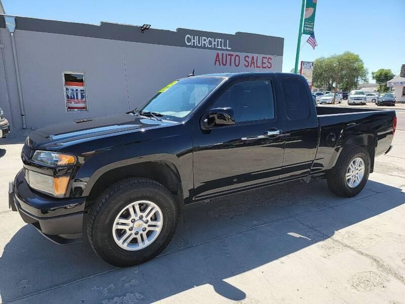 2012 Chevrolet Colorado for sale at CHURCHILL AUTO SALES in Fallon NV