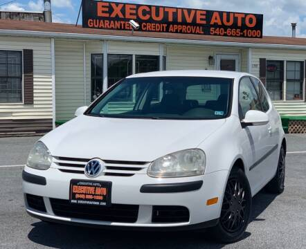 2007 Volkswagen Rabbit for sale at Executive Auto in Winchester VA