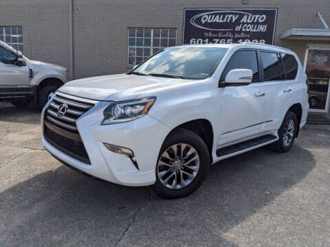 2015 Lexus GX 460 for sale at Quality Auto of Collins in Collins MS