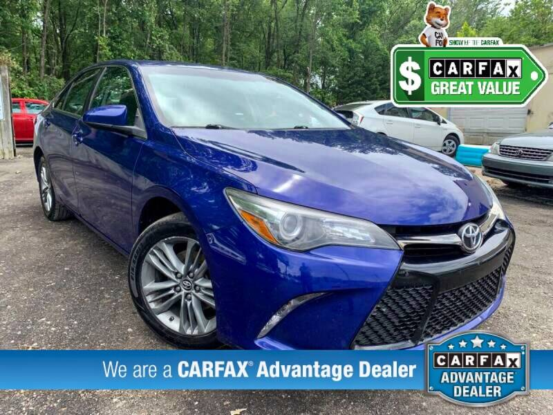 2015 Toyota Camry for sale at High Rated Auto Company in Abingdon MD