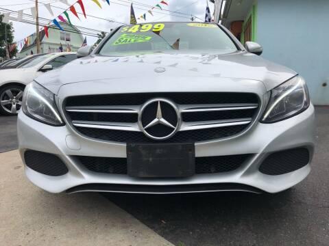 2015 Mercedes-Benz C-Class for sale at Best Cars R Us LLC in Irvington NJ