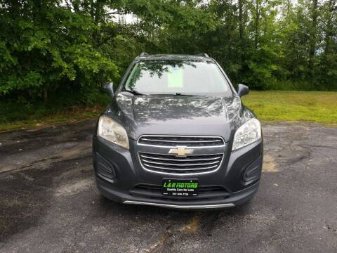 2016 Chevrolet Trax for sale at L & R Motors in Greene ME