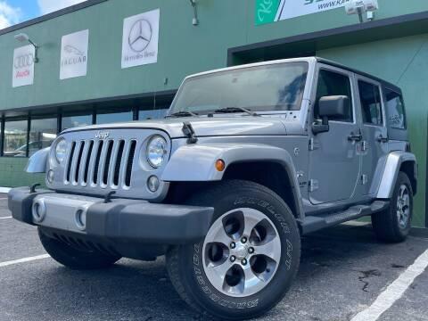 2016 Jeep Wrangler Unlimited for sale at KARZILLA MOTORS in Oakland Park FL