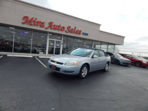 2006 Chevrolet Impala for sale at Mira Auto Sales in Dayton OH