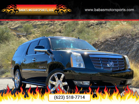 2009 Cadillac Escalade ESV for sale at Baba's Motorsports, LLC in Phoenix AZ