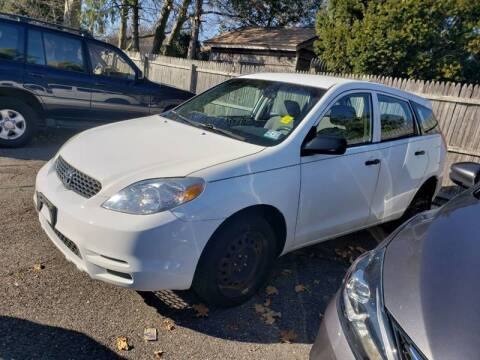 2003 Toyota Matrix for sale at CRS 1 LLC in Lakewood NJ